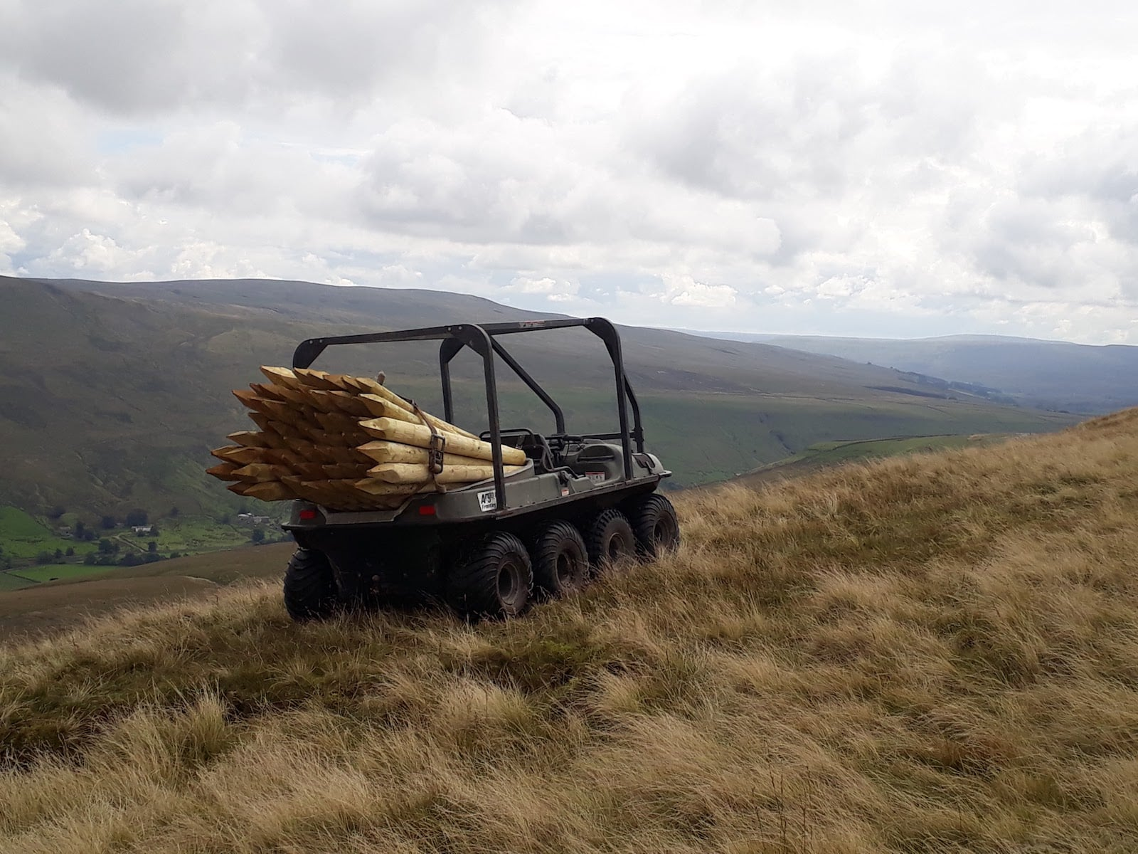 ATV machine hire services