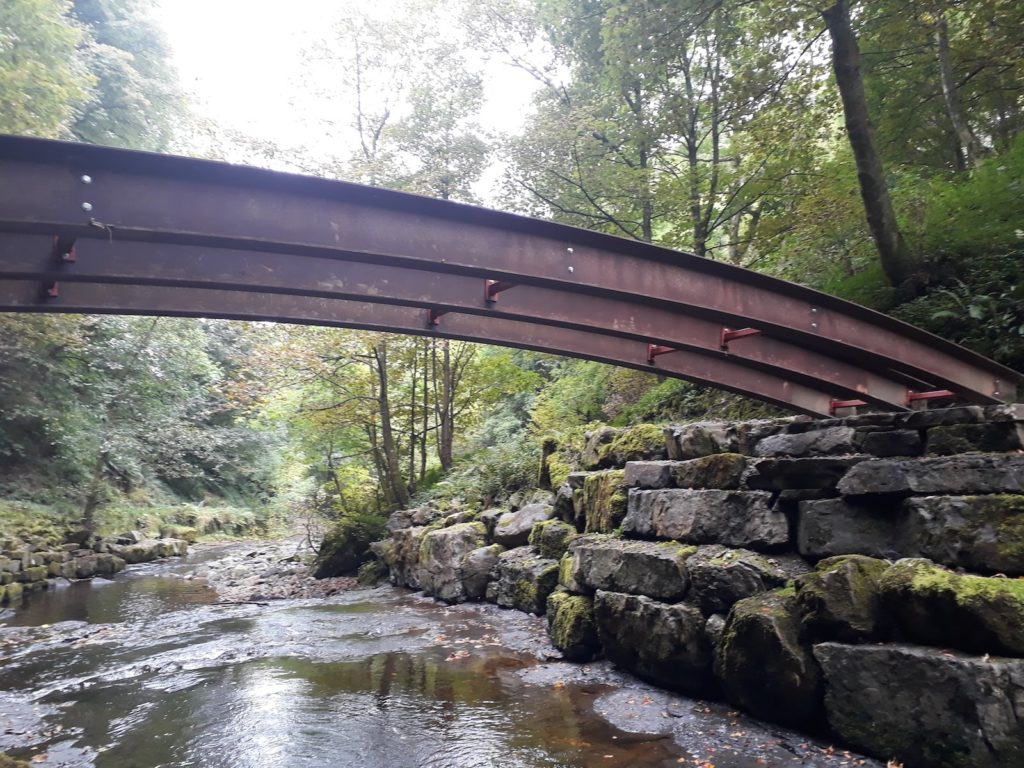 Metal bridge construction by Williams Agricultural Engineering