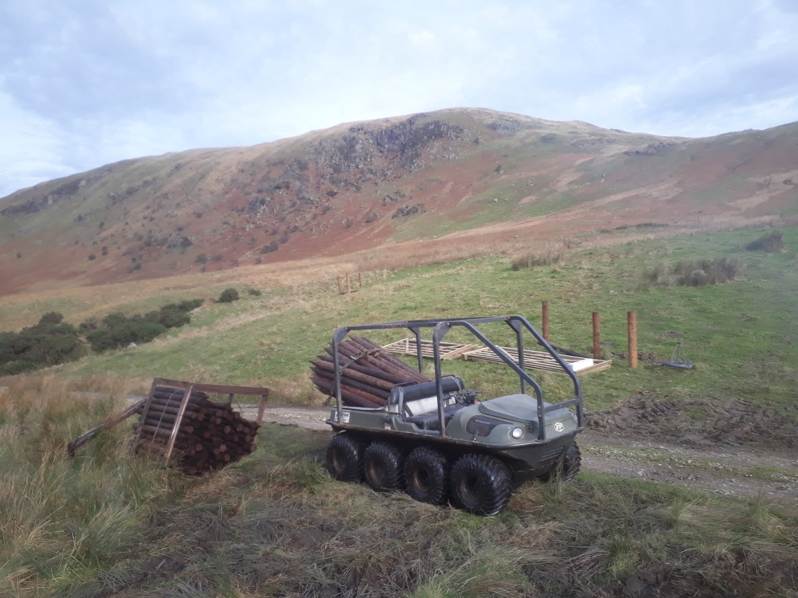 ATV machine hire agricultural services
