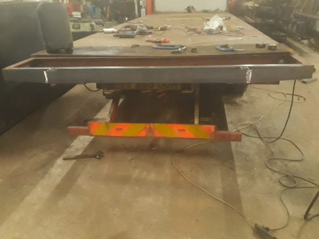 Williams Agricultural Engineering servicing low loader
