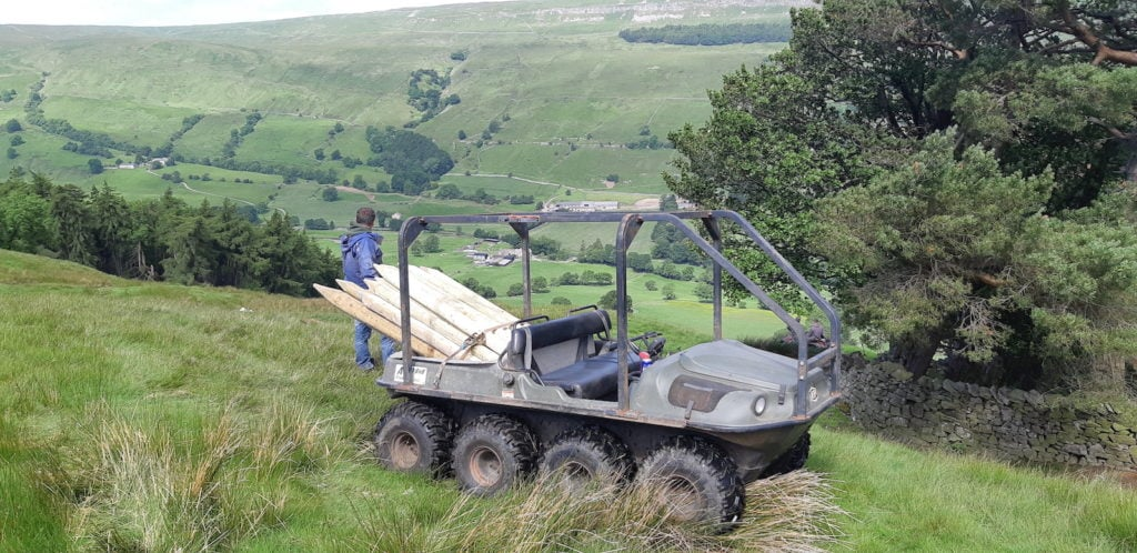 ATV machine hire service