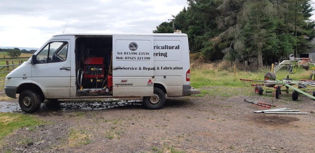 Williams Agricultural Engineering On-site welding van